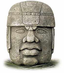 Olmec People Theurgics - Olmec Colossal
